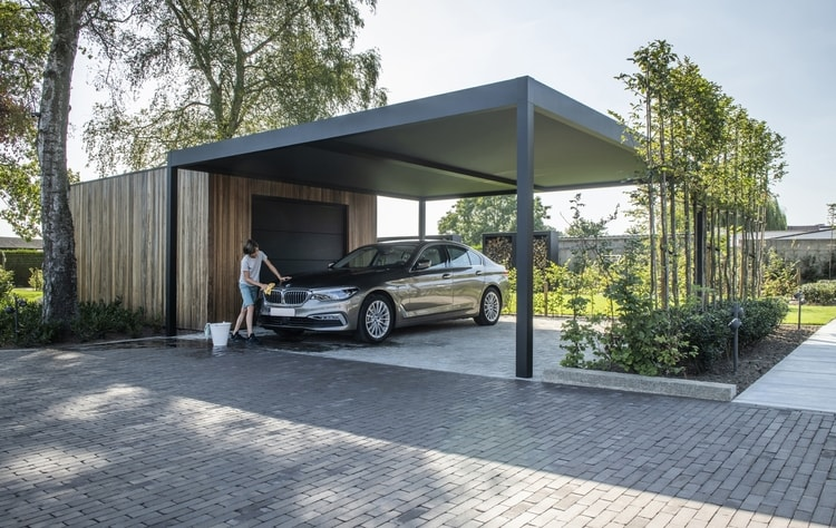 Choosing A Modern Designer Carport That Fits Your Style   Renson Outdoor