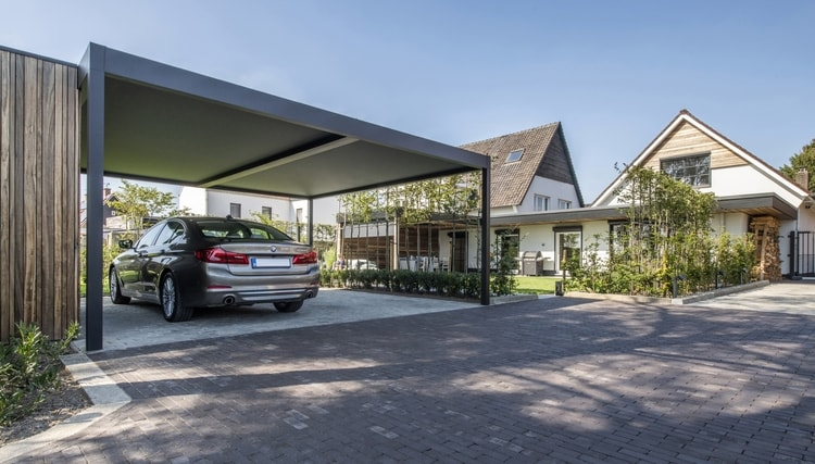 Choosing A Modern Designer Carport That Fits Your Style | Renson Outdoor