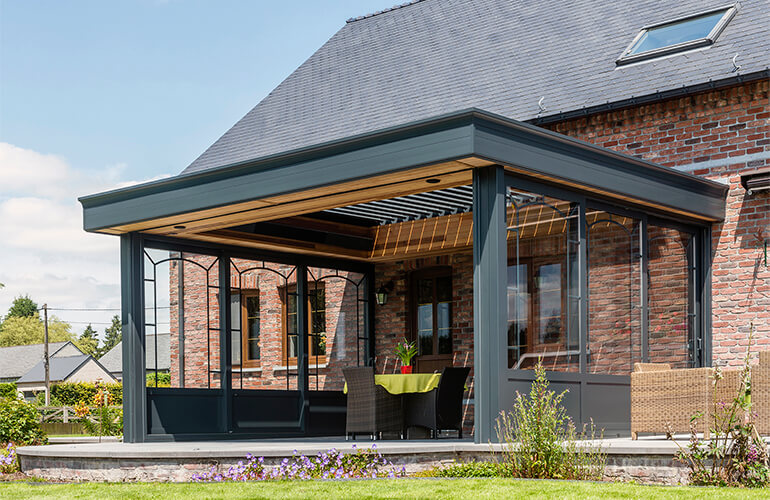 Is It A Veranda Or A Covered Terrace Judge For Yourself Renson Outdoor
