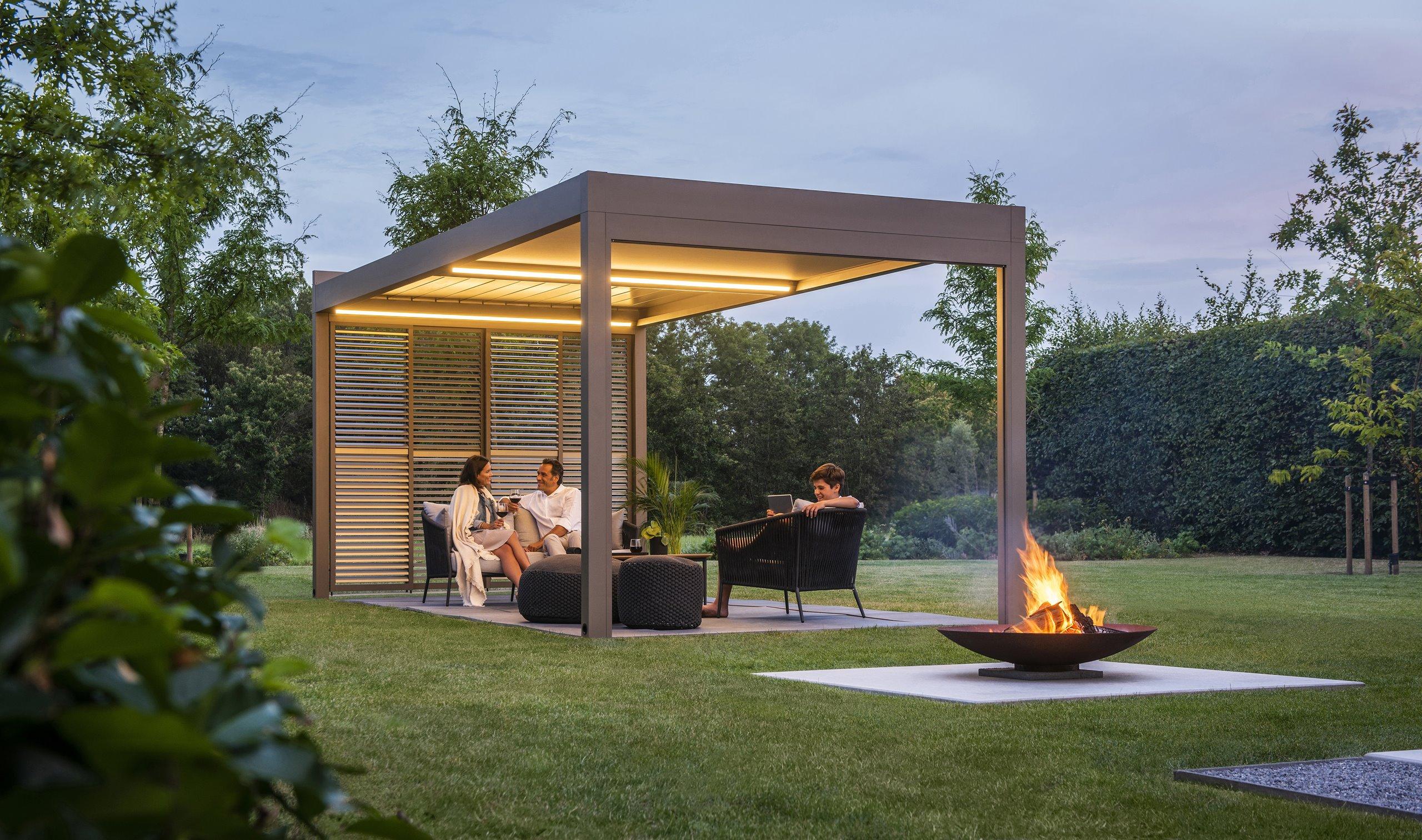 Je tuin, overkapping of pergola inrichten? Doe inspiratie op!   Renson  Outdoor